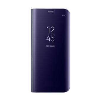 SAMSUNG GALAXY S8 EDGE CLEAR VIEW STANDING COVER VIOLET