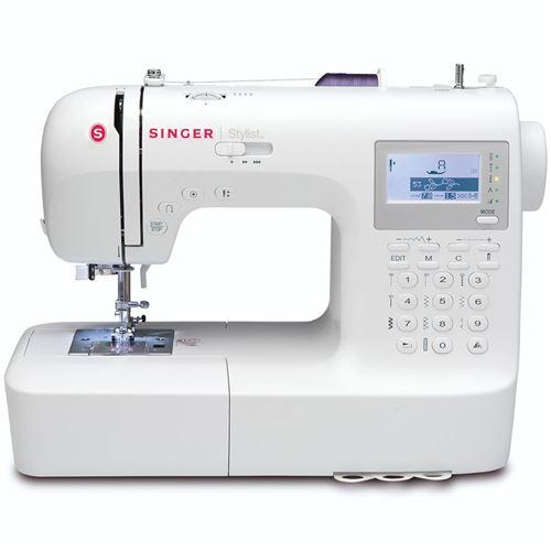 Singer Machine à coudre Stylist Blanc F9100