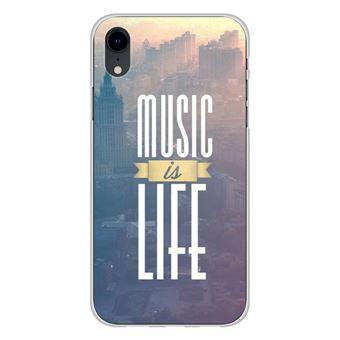 coque xr iphone musique