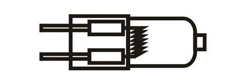 MAUL Ampoule halogène socle G4 2700 K Transparent