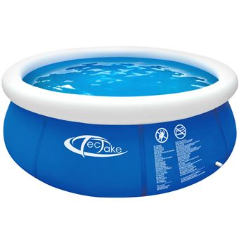 Tectake Piscine Hors Sol Autoportante Gonflable Ronde O240 Cm X 63