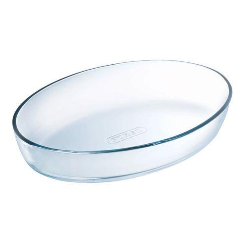 PYREX Plat a four ovale Classic Glassware 25x17 cm transparent