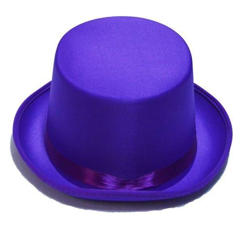 Rubie's chapeau haut-de-forme unisexe violet