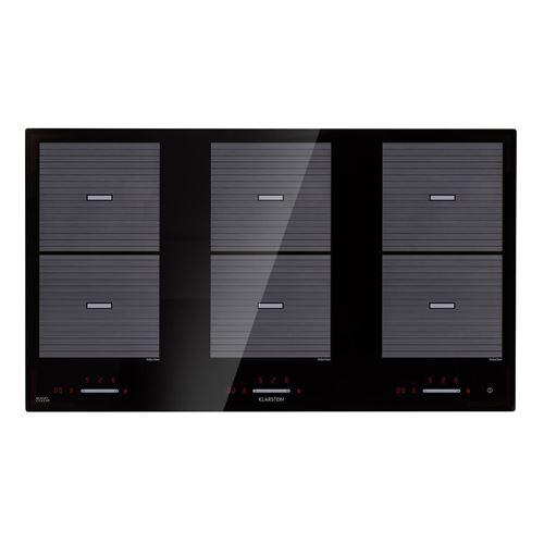 Klarstein Virtuosa Flex 90 Table de cuisson à induction 6 zones - 10800 W - minuterie - noire