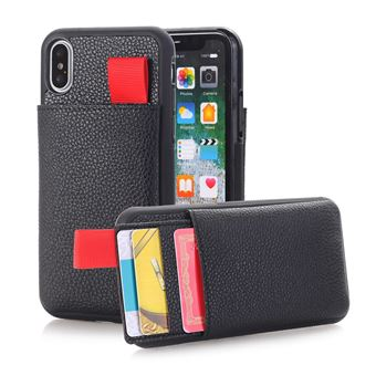 coque iphone xs avec porte carte