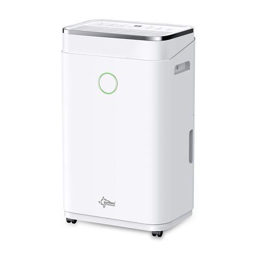 Suntec DryFix 20 - Déshumidificateur - mobile - argent / blanc