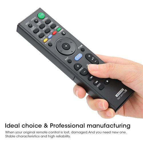 Télécommande de TV en ABS RMT-AH111U pour Télévision Sony - noir