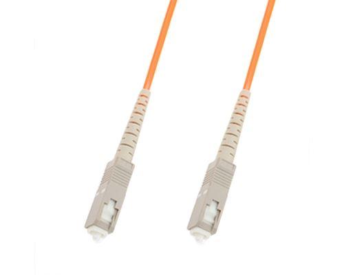 (#26) SC-SC Single-Core Multi Mode Fiber Optic Jumper,Length: 3m