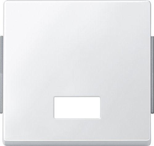 Merten 343819 Wippe mit rechteckigem Symbolfenster, polarweiß, AQUADESIGN