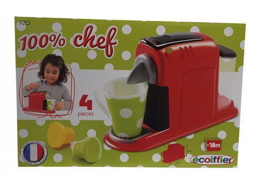 Ecoiffier : Jouet: Mini cafetière expresso pour enfant (2175)