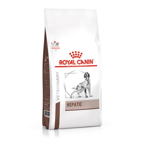 Croquettes Royal Canin Veterinary diet dog hepatic - 12kg