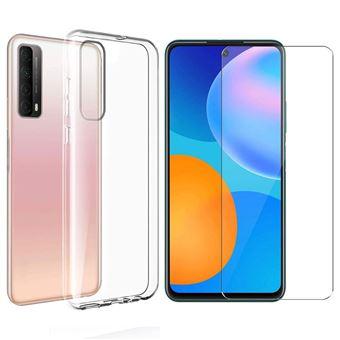 Pack pour Huawei P Smart 2021 / PSmart 2021 : Coque Transparente ET Protection écran en en verre trempé XEPTIO