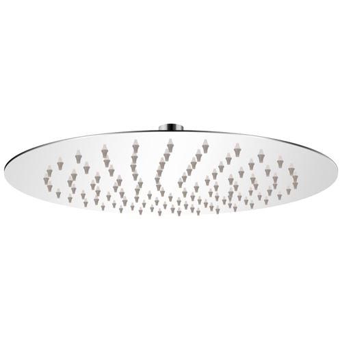 vidaXL Tête de douche plongeante ronde en acier inoxydable 25 cm