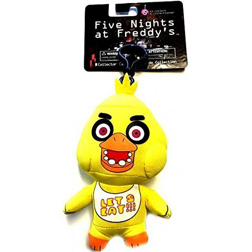 FNAF Officially Licensed Five Nights At Freddys 5 chica Plush Toy clip