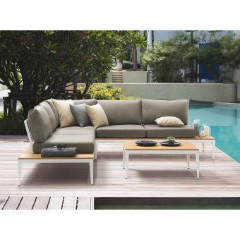 Beliani - Salon de jardin 4 places avec table basse Positano