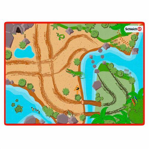 SCHLEICH Tapis de jeu Wild Life - Pour enfant