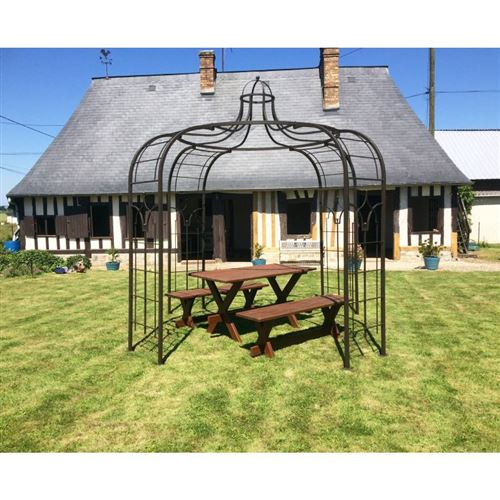 L\'Héritier Du Temps - Gloriette princess medium tonnelle pergola de ...