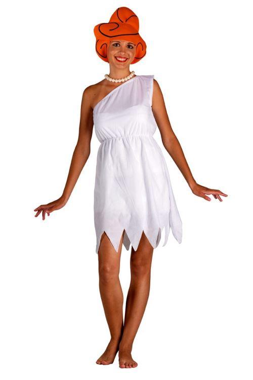 Costume Primitif Femme Cartoon