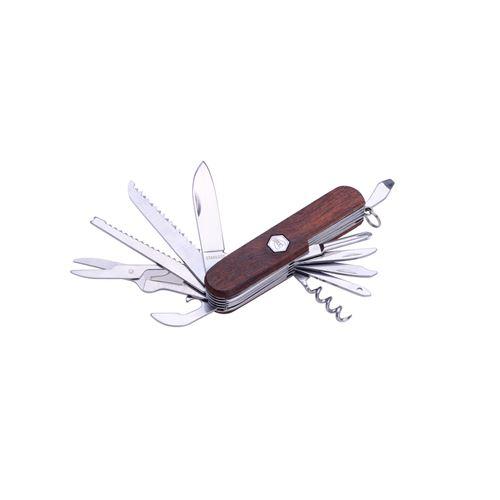 Couteau multifonctions manche en bois de santal rouge