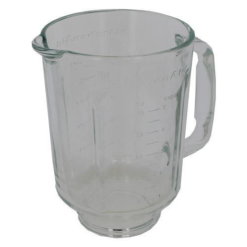 Bol mixer verre nu pour Blender Kitchen aid, Robot Kitchen aid
