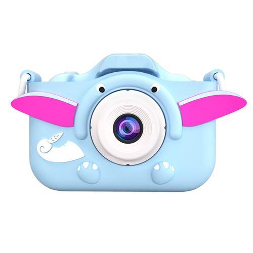 Appareil Photo Enfants de 3 à 10 Ans, 1080P HD 8 M Enregistrement Vidéo ,Carte TF de 32 Go-Bleu