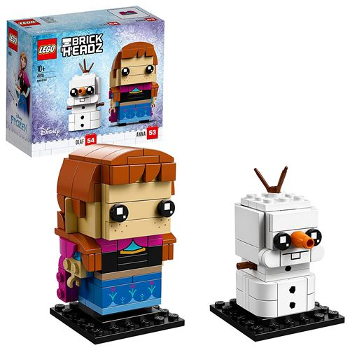 Lego BrickHeadz Anna et Olaf (41618) Disney Princess La Reine des Neiges