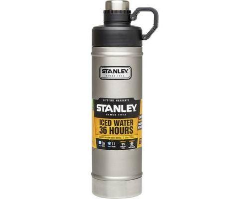 Stanley classic vakuum-bottle bouteille isotherme argent-noir 750 ml 10-02286-004
