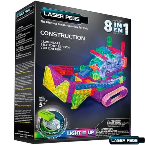Templar 8 in 1 construction runner laser pegs