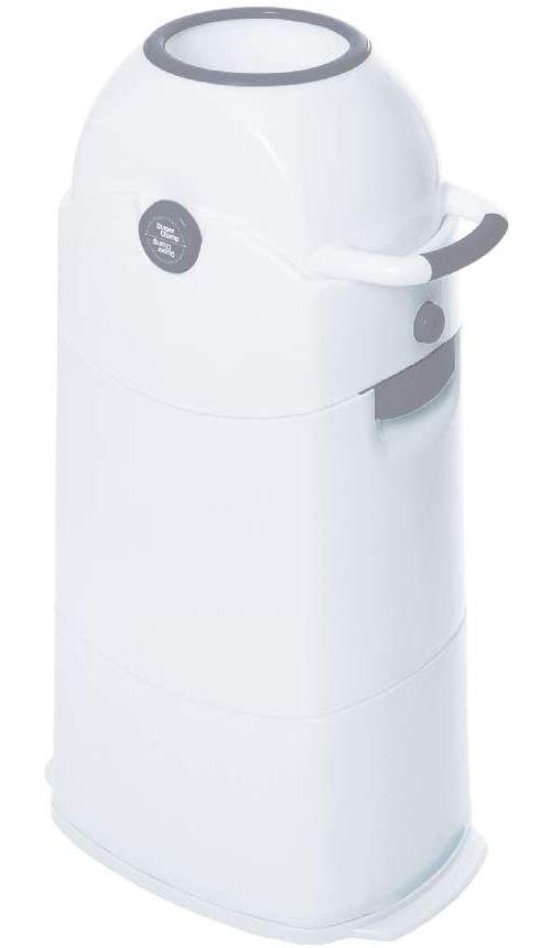 Poubelle à couches sans odeur Diaper Champ Silver Medium 72cm