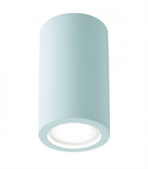 Plafonnier cylindre Gypsum, en plâtre
