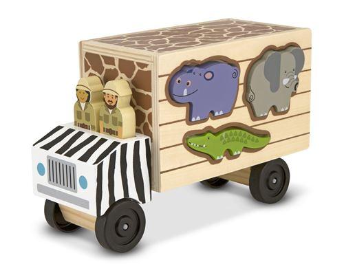 Melissa & Doug ragoût d'animaux en bois pour animaux, 10 pièces