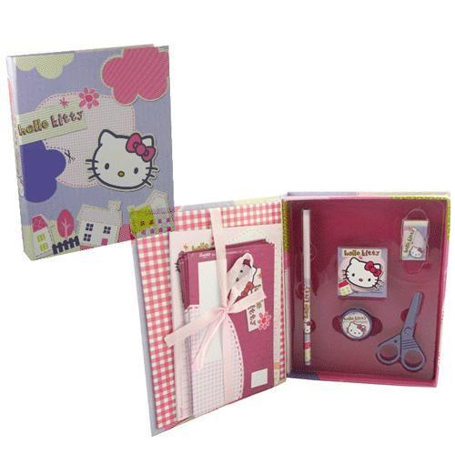 Boite garnie Mini secrétaire Hello Kitty