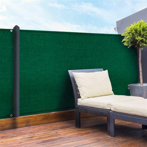 Brise vue vert 1,5 x 10 m 90 gr/m² classique
