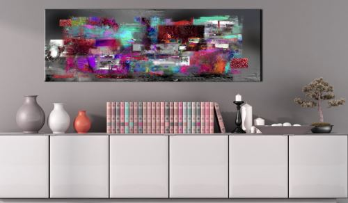 150x50 Tableau Modernes Abstraction Inedit Source of Inspiration