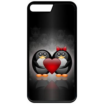 coque iphone 8 plus coeur rouge