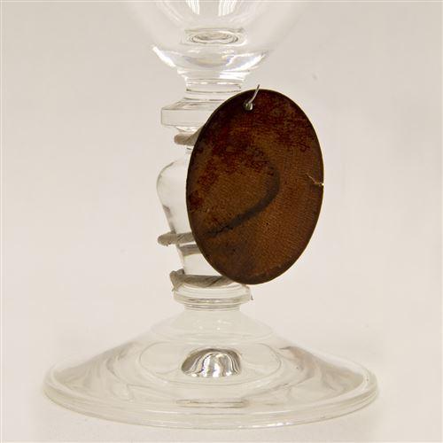 Lot de 6 Disques aspect coquillage coloris Marron - Diam : 4 cm