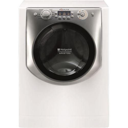 Hotpoint Ariston Aqualtis AQ83F 29 FR - Machine à laver - indépendant - largeur : 59.5 cm - profondeur : 55.1 cm - hauteur : 85 cm - chargement frontal - 58 litres - 8 kg - 1200 tours/min - blanc