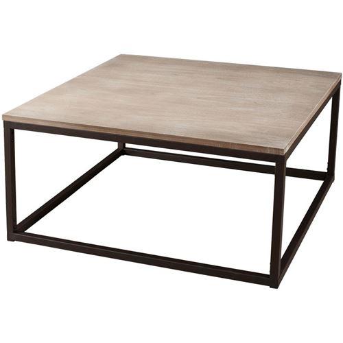 Table basse carrée 90 x 90 cm
