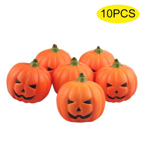 Faux 10Pcs Halloween Citrouille Artificielle Props Jardin Décoration D'Intérieur JJZS014