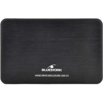 """Boîtier externe Bluestork Easybox Noir pour disque dur 2.5"""" SATA"""