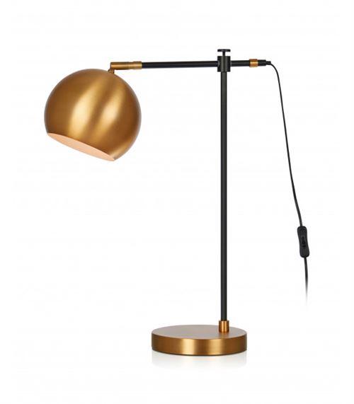 Lampe de table CHESTER Noire 1 ampoule