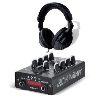 30 Sur Pack Table De Mixage Dj Sono Usb Bluetooth Ibiza Sound
