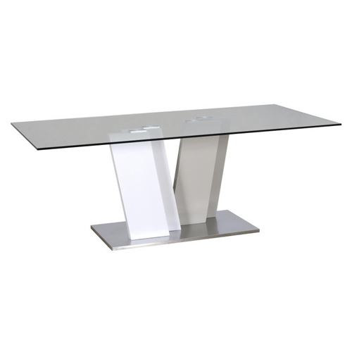 Table de repas Gris/Blanc - PATTAYA