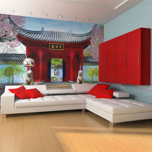 papier peint - chinese botanical garden of montreal (quebec canada) - artgeist - 200x154