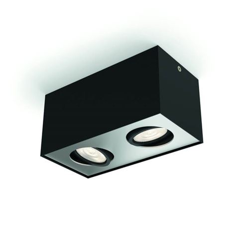 Plafonnier Box 2 - Noir