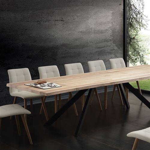 3622 51 Sur Table A Manger Extensible Bois Massif Ilona L 300 X