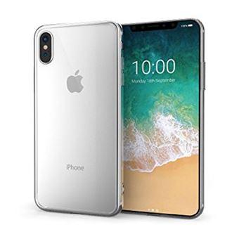 coque silicone iphone x transparente