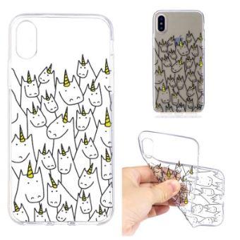 licorne coque iphone x
