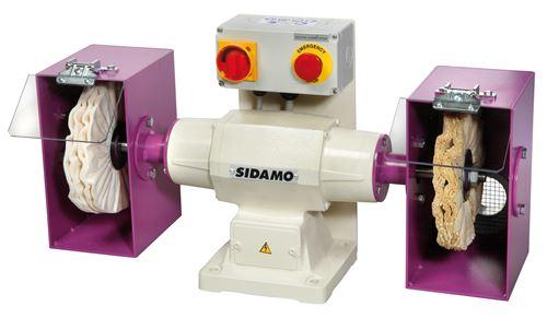 Touret à polir SIDAMO 148 D.200 / 230 V MONO - 20113019