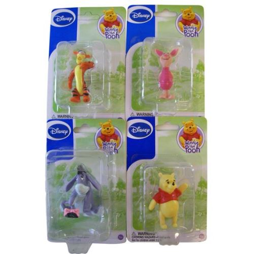 Disney Winnie l'ourson et les figurines ensemble (Winnie Porcinet Tigrou Bourriquet)